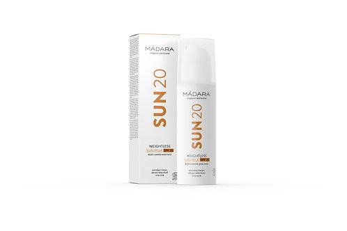 Mádara Sun 20 Weightless Sun Milk