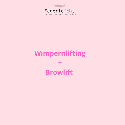 Wimpernlifting+ Browlift