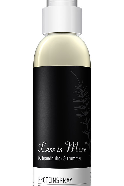 Less is more Proteinspray