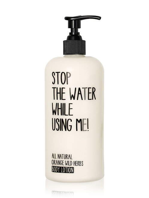 Stop The Water Orange Wild Herbs Body Lotion