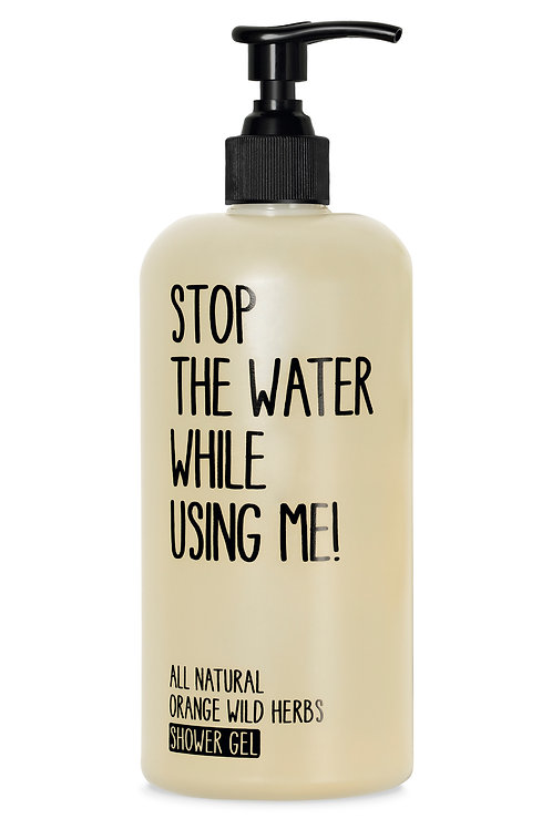 Stop The Water Orange Wild Herbs Shower Gel