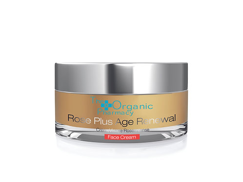 The Organic Pharmacy Rose Plus Age Renewal Face Cream