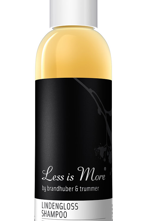 Less is more Lindengloss Shampoo