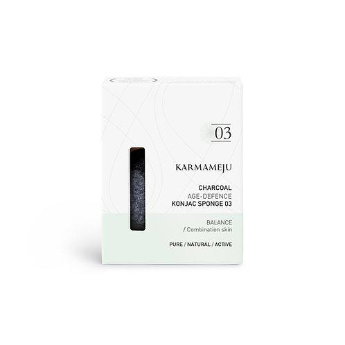 Karmameju Charcoal Konjac Sponge 03