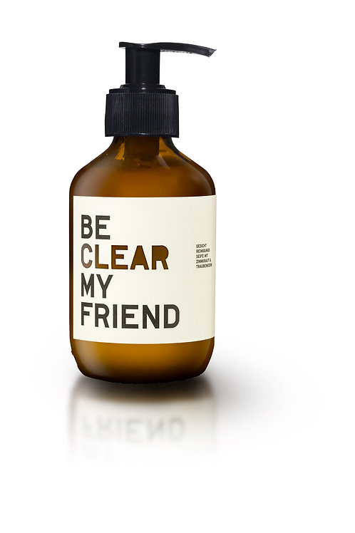 Be Clear My Friend