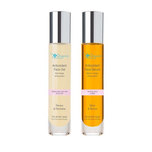 The Organic Pharmacy Antioxidant Duo Face Gel & Serum