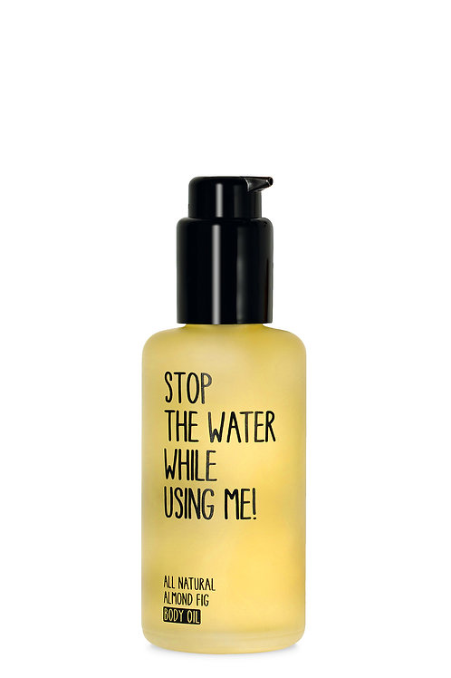 Stop The Water Almond Fig Body Oil