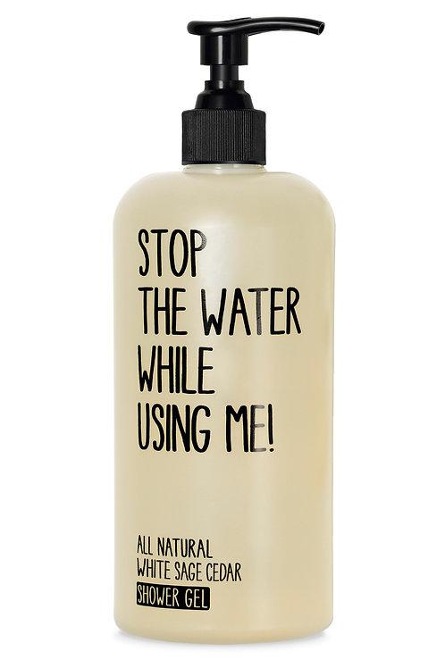Stop The Water White Sage Cedar Shower Gel