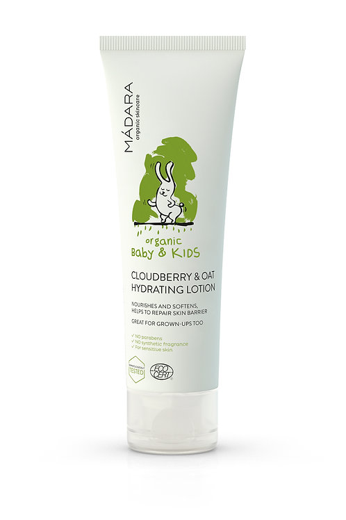 Mádara Baby & Kids - Cloudberry & Oat Hydrating Lotion