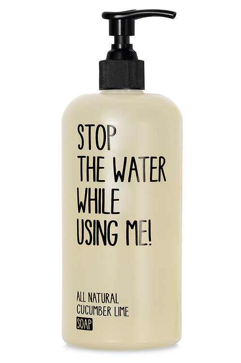 Stop The Water Cucumber Lime Soap