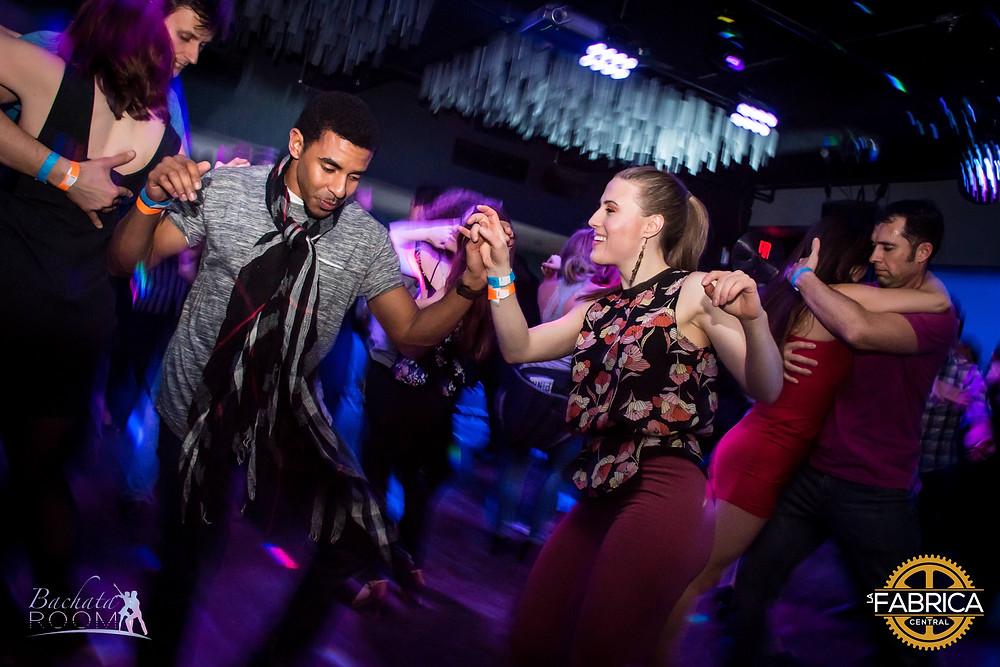 Bachata Room Boston Dancing 2