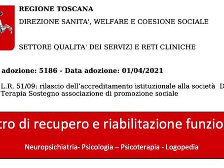Centro Dia.Te.So. Accreditato dalla Regione Toscana