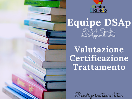 DSAp Disturbi Specifici dell'apprendimento