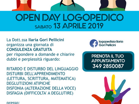 OPEN DAY LOGOPEDICO