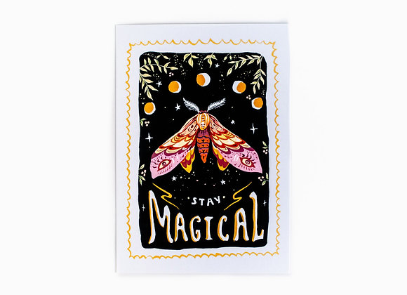 "A3 Print ""Stay Magical"""