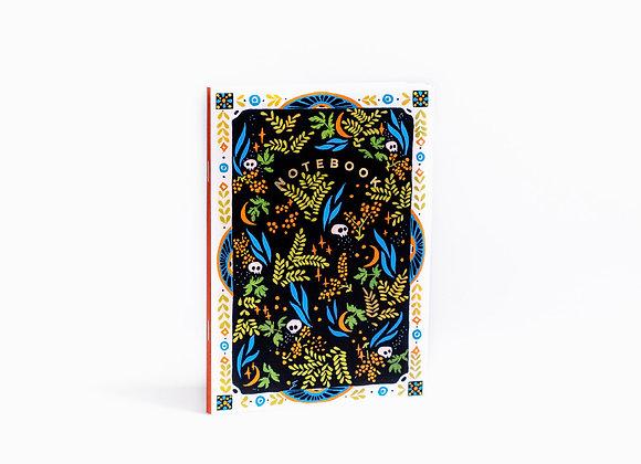 "A5 Notebook ""Hidden Treasures"""