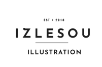 IZLESOU ILLUSTRATION Logo