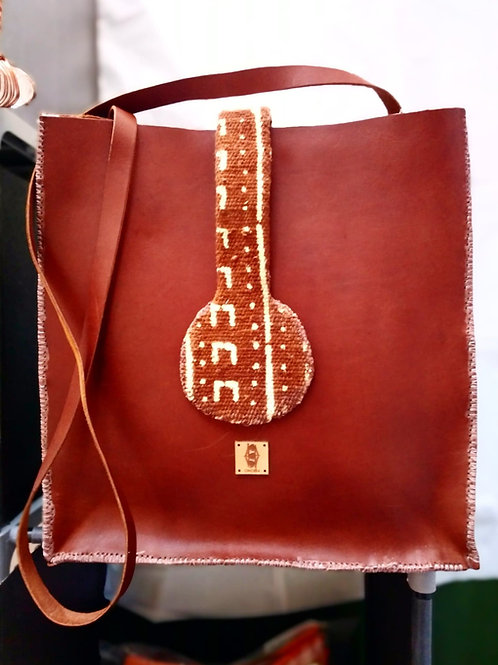 Large Leather Tote bag crossbody