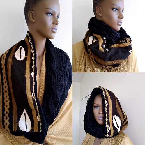 Afro Infinity Scarf 1
