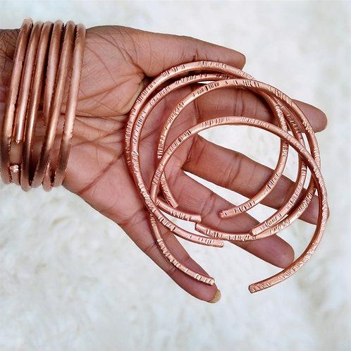 Single Copper bracelets