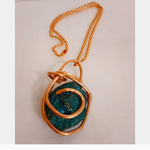 Peacock Ore Necklace