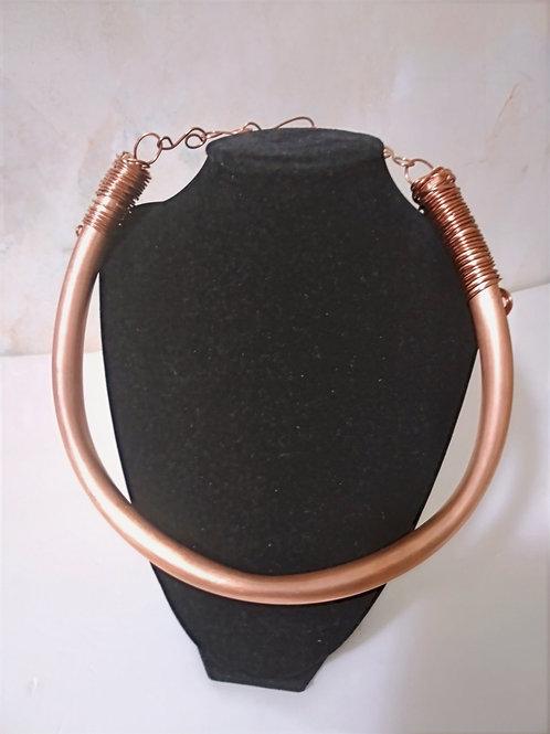 Masai Copper Necklace