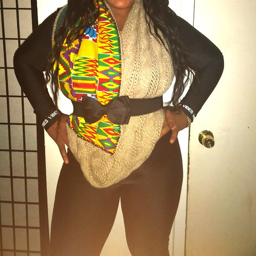 Afro Infinity Scarf 4