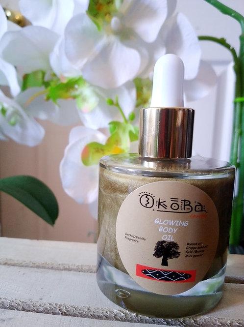 Glowing body oil/1.7oz