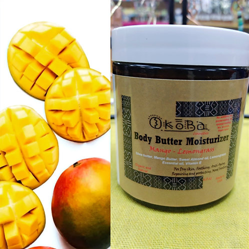 Mango Lemongrass Body Butter