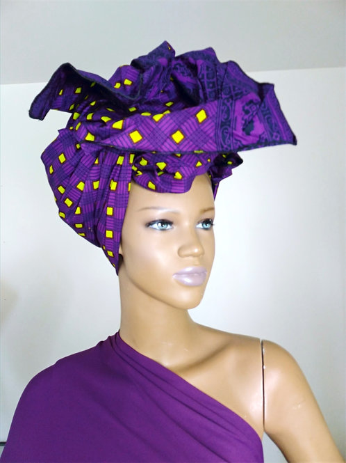 African fabric wrap