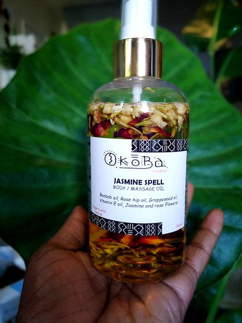 Jasmine Spell body or massage oil/8oz