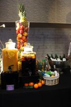 Fontaine à jus de fruits