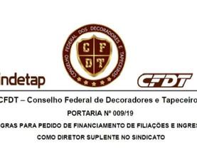 SEJA UM DIRETOR DO SINDICATO DOS DECORADORES E TAPECEIROS DO PARÁ
