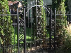 Exterior - Wrought Iron Gate