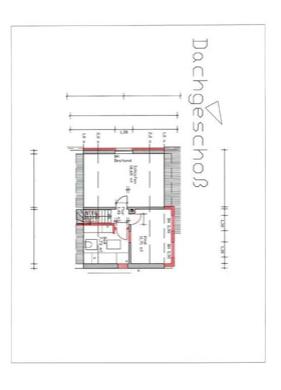 5667 Grundriss Dachgeschoss
