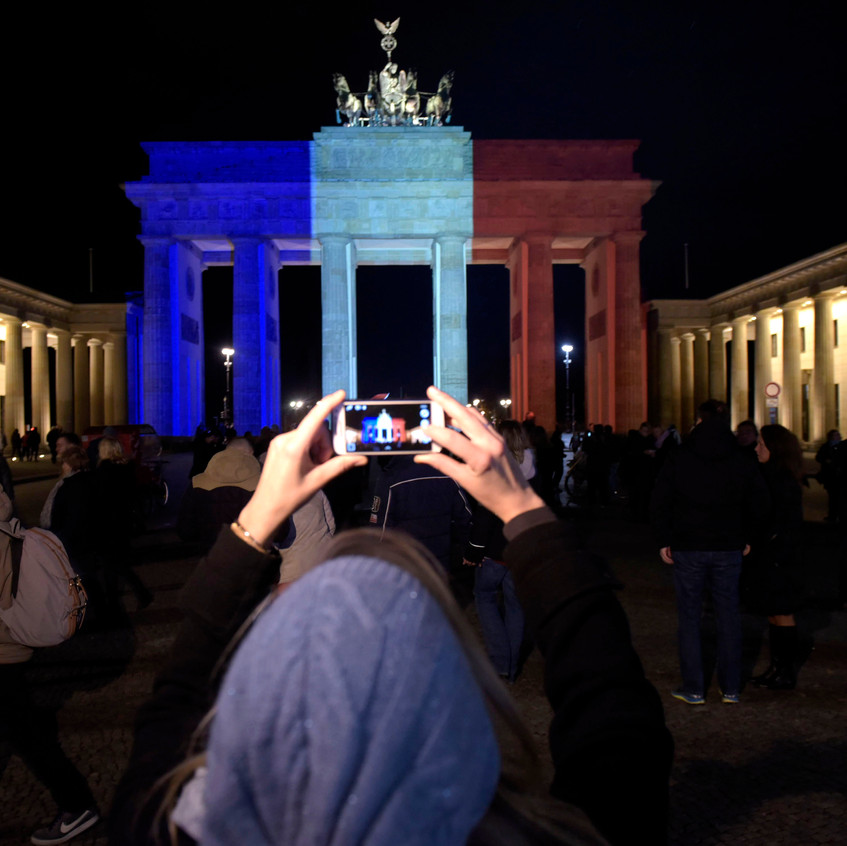 Trauer nach Anschlägen in Paris