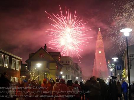 Weihnachten & Neujahr in Reykjavik