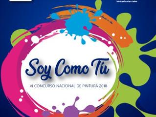 "VI CONCURSO NACIONAL DE PINTURA 2018 ""SOY COMO TÚ"""
