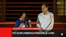 Discurso en el palacio de gobierno de Nuestra Directora por el día Mundial del Autismo