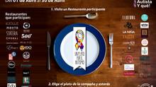 Un plato por el Autismo
