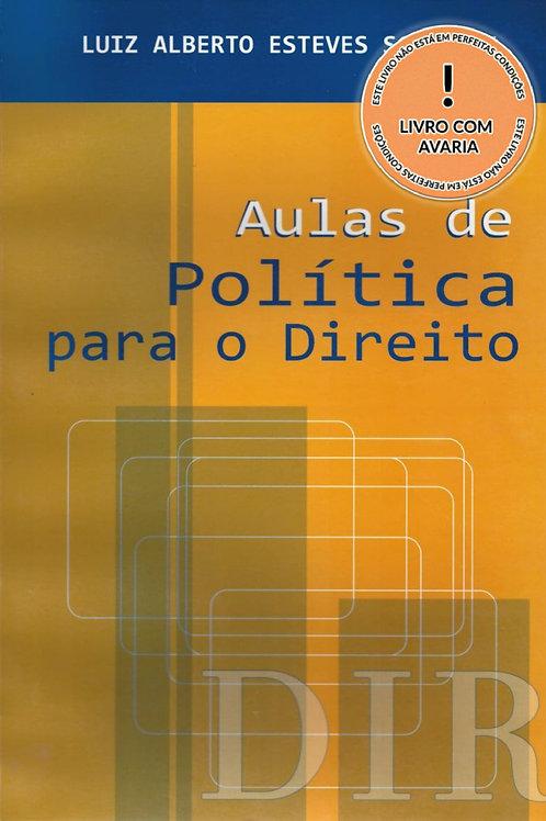 AULAS DE POLÍTICA PARA O DIREITO