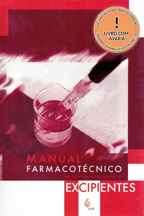 MANUAL FARMACOTÉCNICO DE CONTROLE E APLICAÇÃO DE EXCIPIENTES