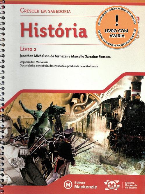 CRESCER EM SABEDORIA: HISTÓRIA - LIVRO 2