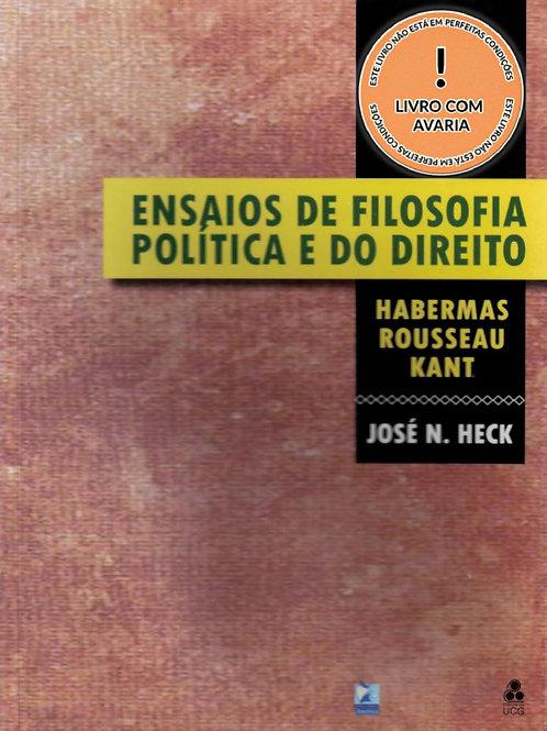 ENSAIOS DE FILOSOFIA POLÍTICA E DO DIREITO: HABERMAS ROUSSEAU KANT