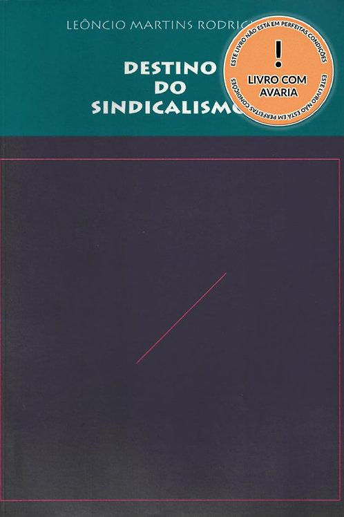 DESTINO DO SINDICALISMO - 2ª EDIÇÃO