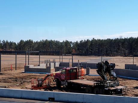 Rock Falls Raceway's New Building is Underway