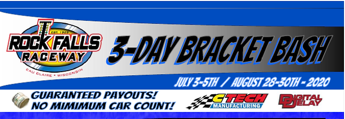BIG $$$ Bracket Drag Race (No Pts & No Jrs) (Day 3 of 3-Day Race)