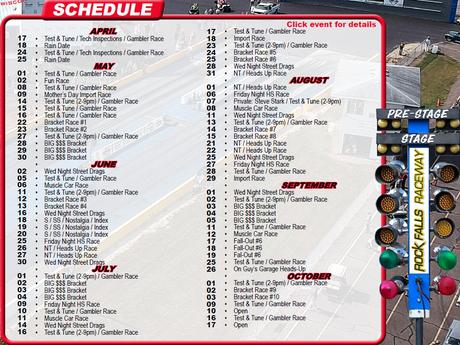 Rock Falls Raceway Releases 2021 Schedule