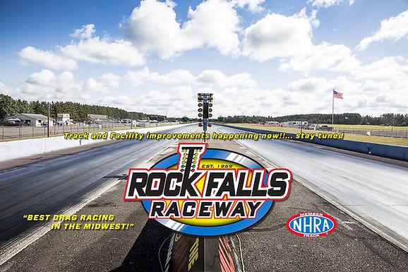 The Rock Falls Raceway Drive-Thru Tour