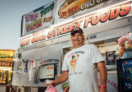 Let's Taco 'Bout Big Girl Street Foods at Rock Falls Raceway!